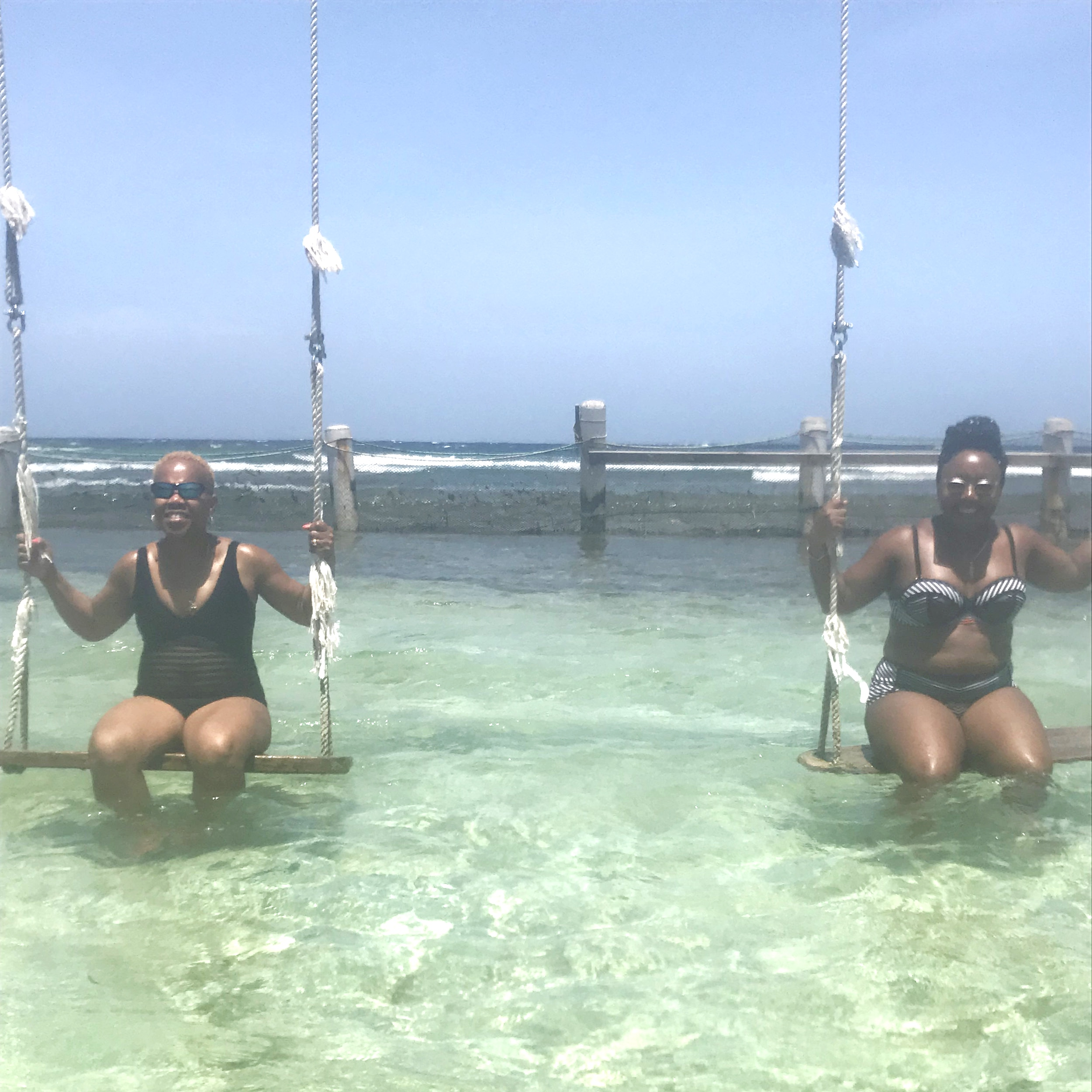 Swings in the Sea