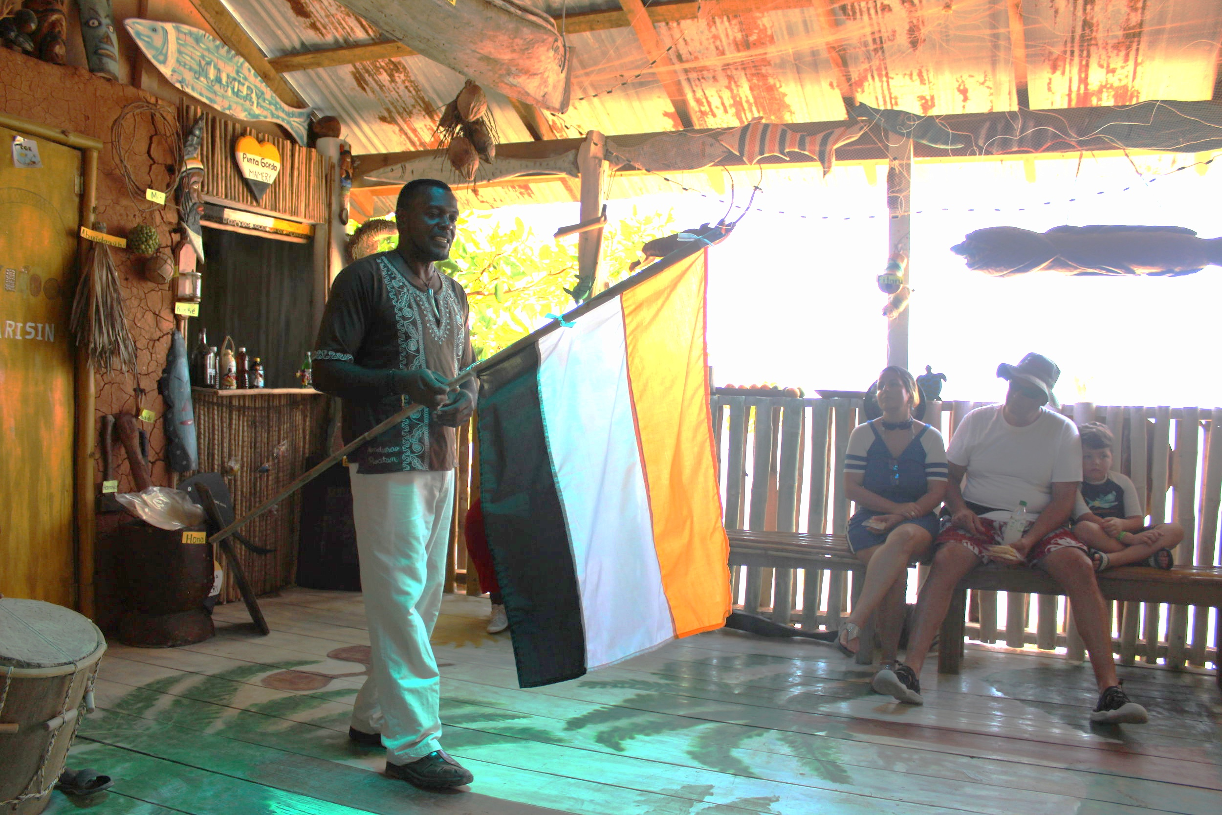 The Garifuna Flag