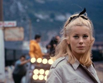 Les Parapluies de Cherbourg  . 1964. France. Directed by Jacques Demy. 92 min. © Parc Film, Madeleine Films & Beta Film.