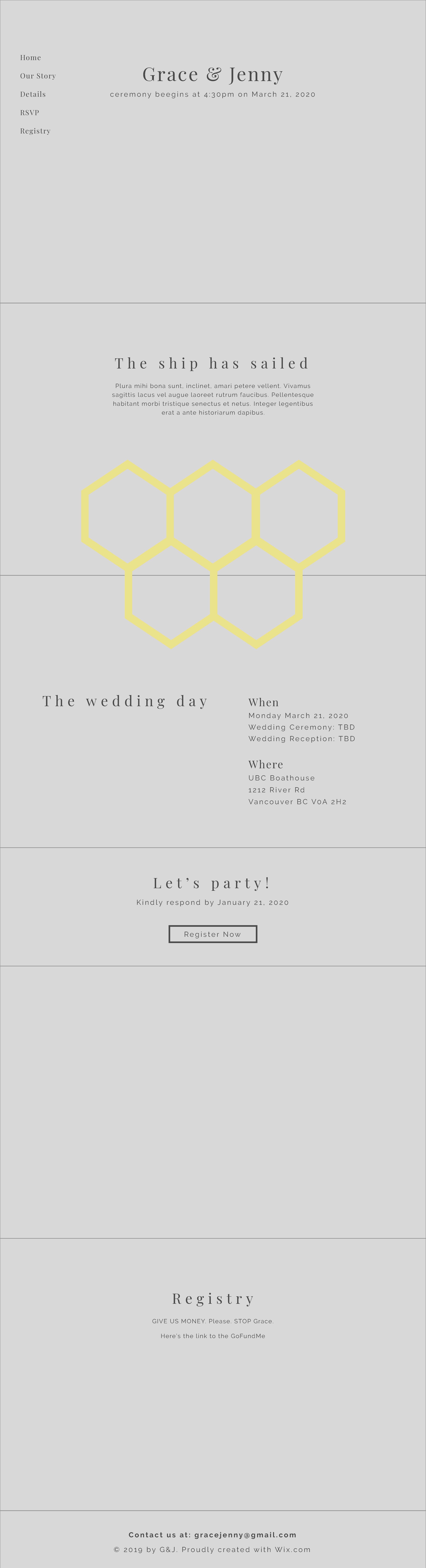Graphic Design Wedding Invitation Print And Web Sj Diana L