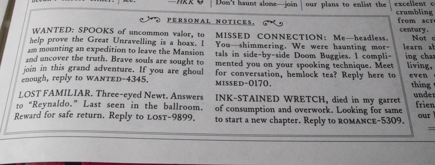 Ghost Post - Grim Gazette Vol2 - Personal notices.jpg