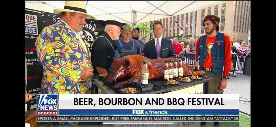 an appearance on Fox and Friends in May of 2019