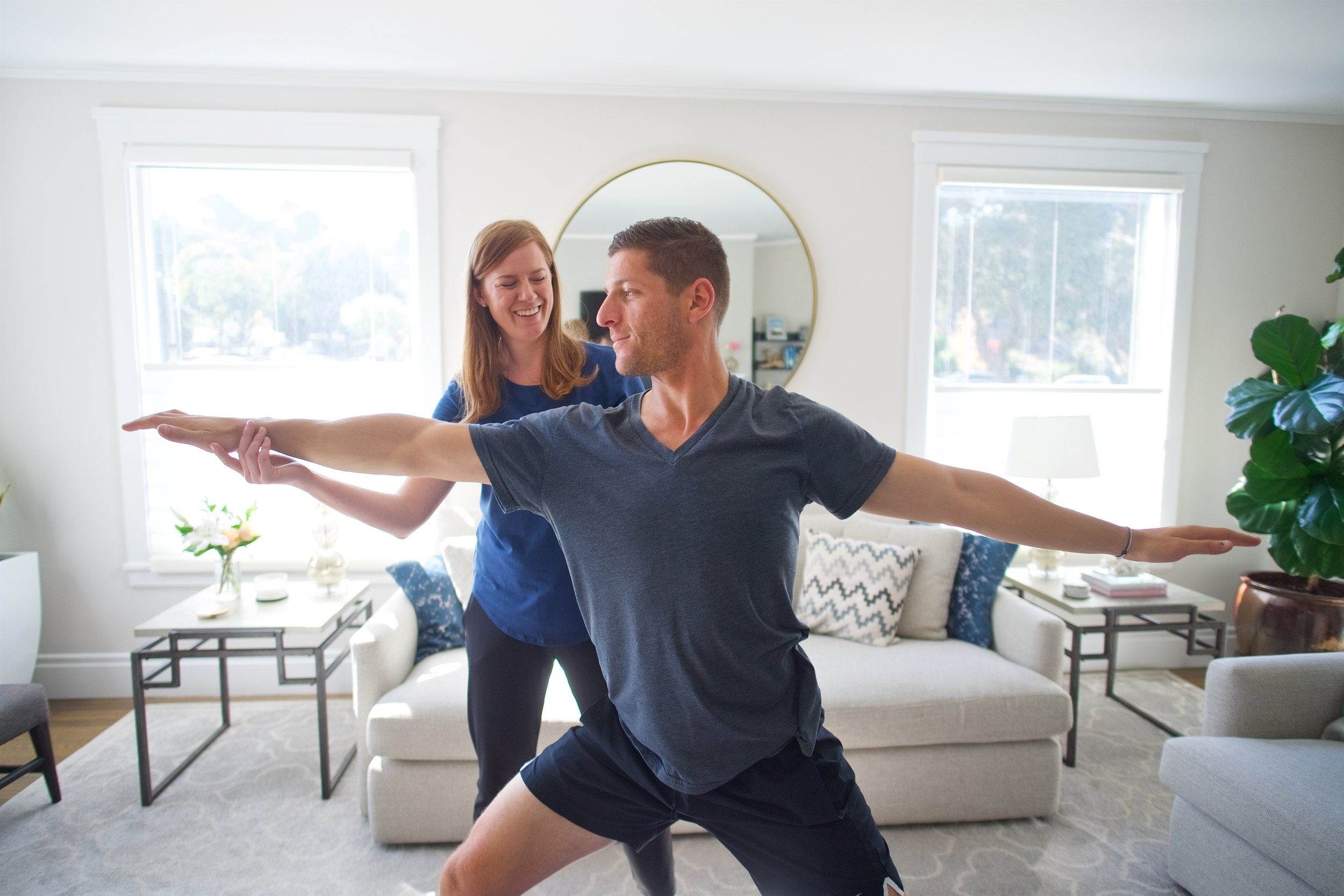 1-on-1 Wellbeing meetings   Proactively use hands on therapy and exercise to prevent pain & injury, optimize holistic health and meet your fitness goals.