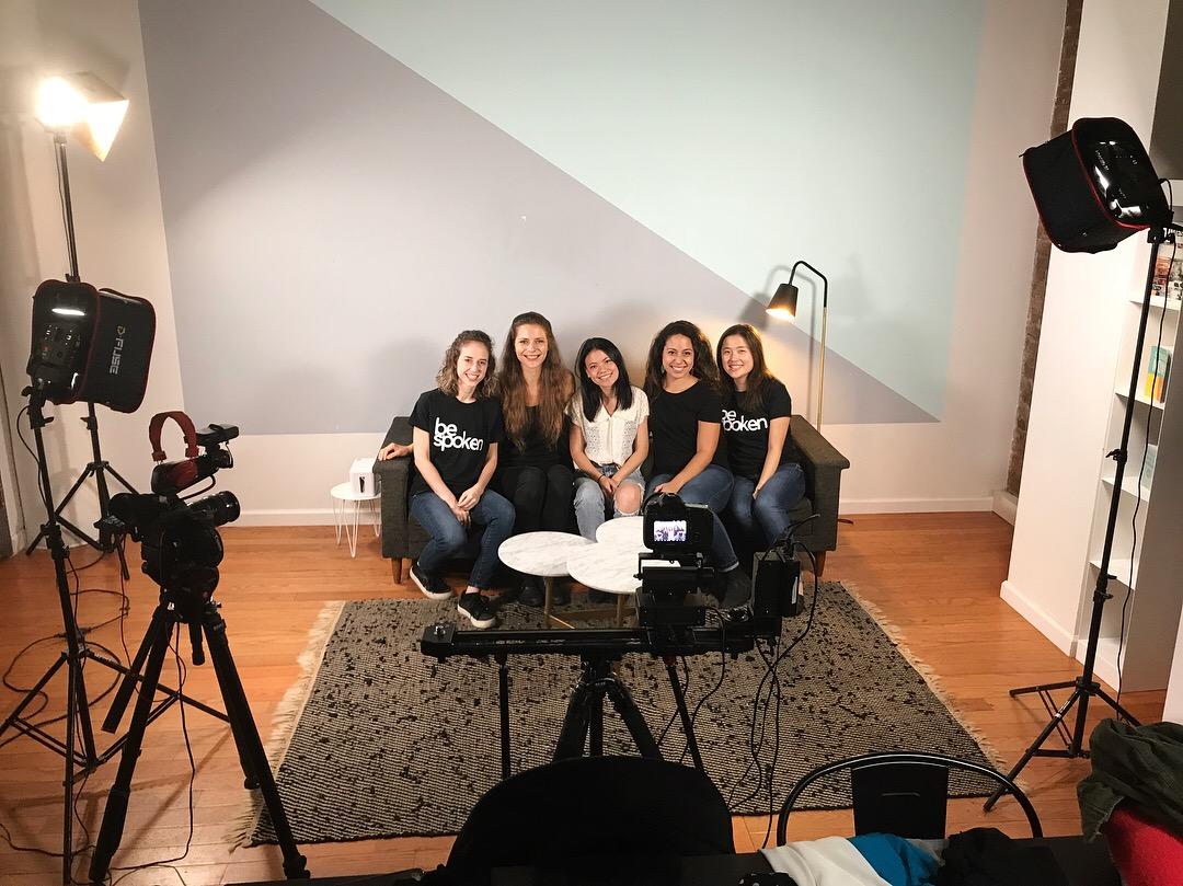 Bespoken fellow video shoot