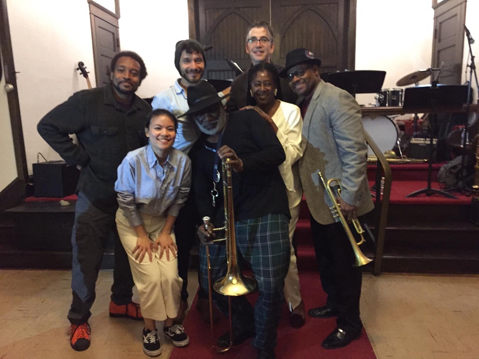 Frank Lacy Concert Jazz ensemble