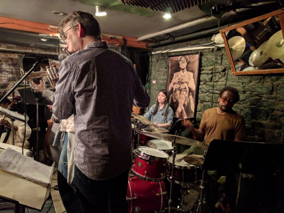 Frank Lacy Concert Jazz Ensemble @Smalls