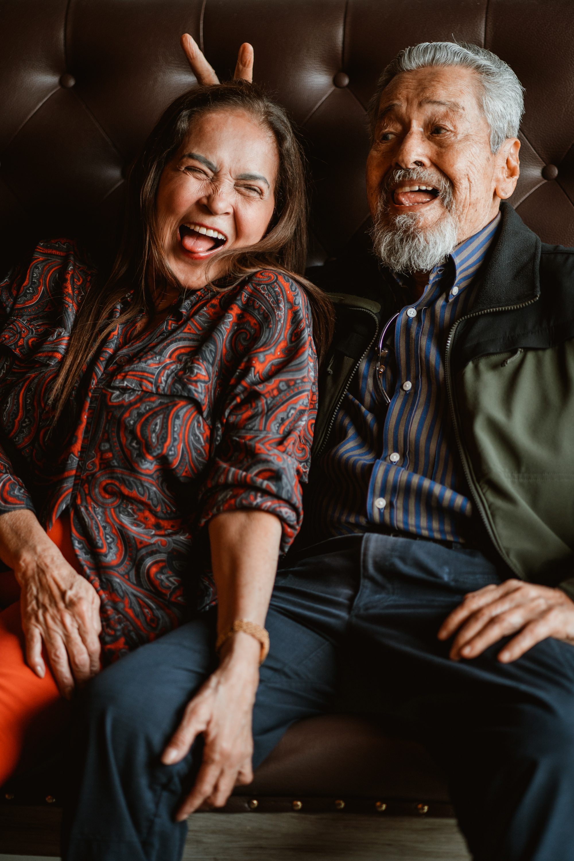 Gina Pareño and Eddie Garcia, actors of  Hintayan ng Langit , for Philippine Star Supreme. 2018.