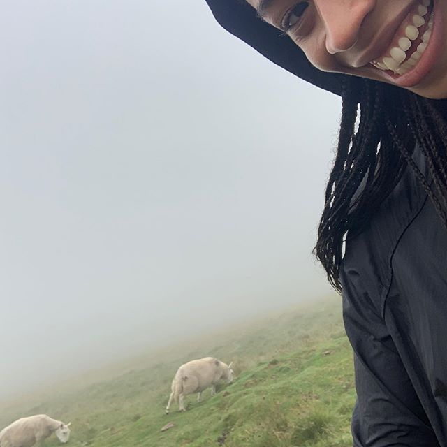 august 4th, 2019. the weather in New York today is reminding me of this day, when Ben and I tried to summit Pen-y-fan, the highest peak in south Wales. as we were hiking the visibility got worse and worse, it was cold and wet, and the winds were picking up. as we were climbing up, some other hikers told us that a young boy had gone missing because of how low the visibility was (he was later found!). we decided to head back down. of course, within minutes of reaching the bottom, the sky cleared up and it was beautiful again (last photo). hilariously unlucky.