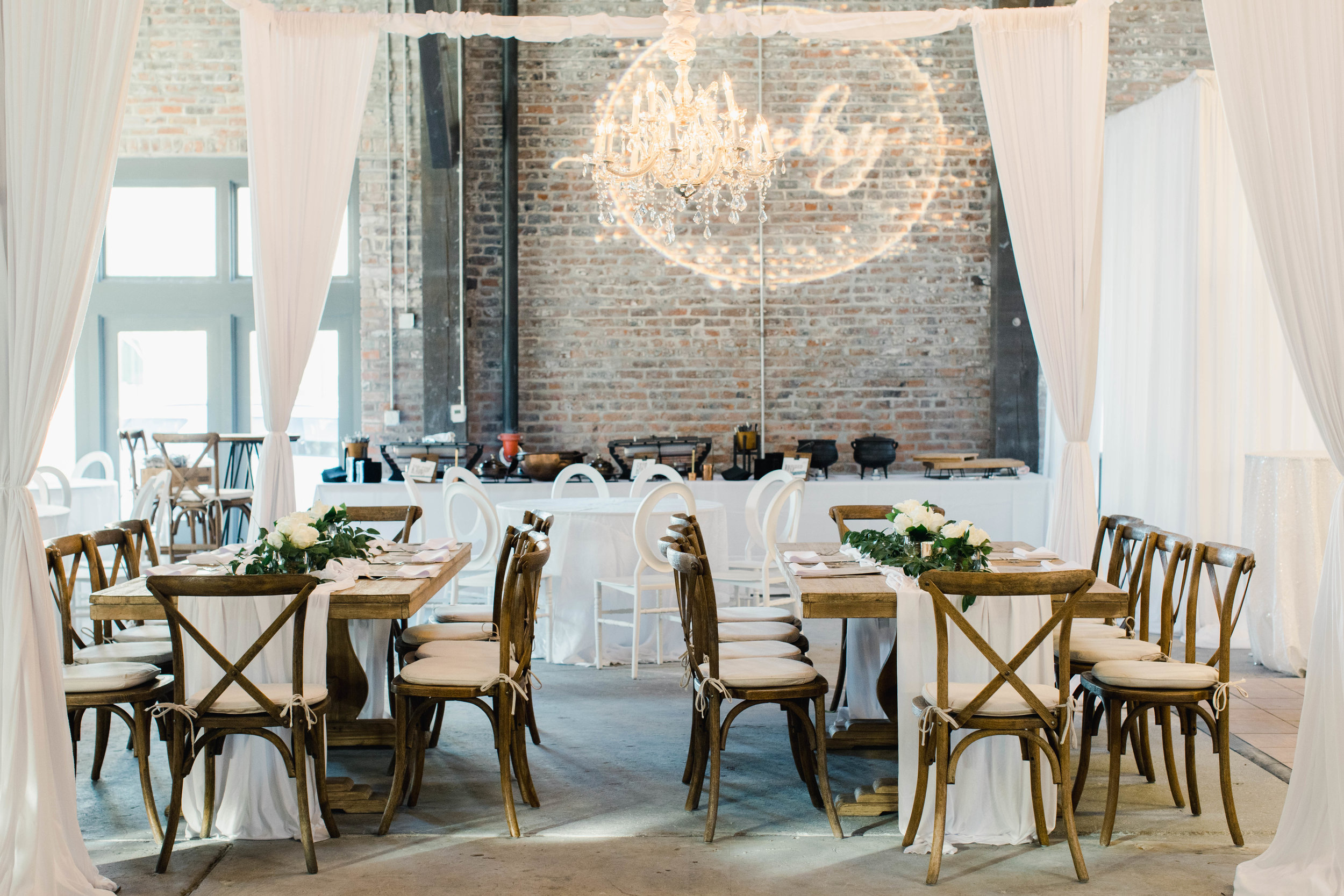 New Orleans wedding warehouse