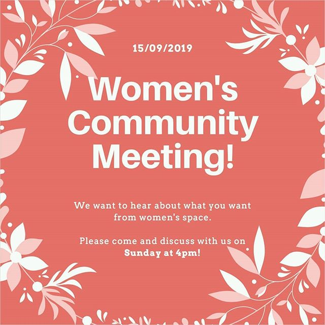 Ladies of Lagadikia - we want your feedback! Come and tell us this Sunday at 4pm!