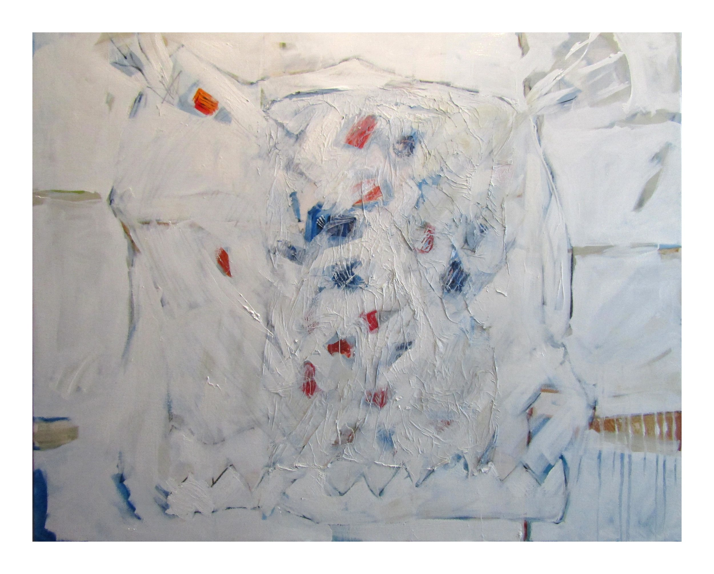 "Hard Candy' - (A Pokey o' Cut Roak, Easter 1960). Oil on canvas. 50"" x 60"","