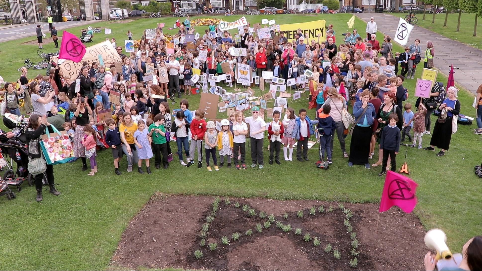 Waltham Forest Extinction Rebellion Protest