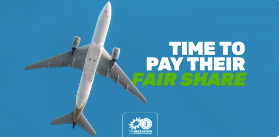 End the tax exemption on aviation fuel