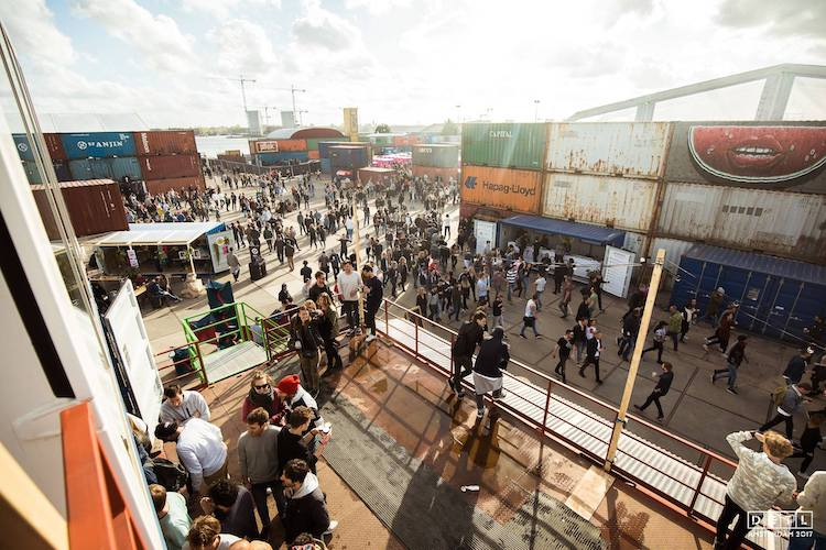 The industrial-style DGTL festival site -  ©DGTL