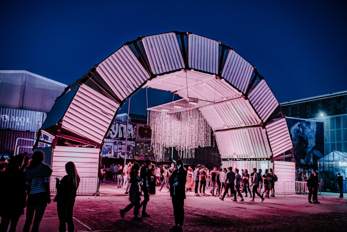 Art Installation at DGTL festival -  ©Jordy Brada