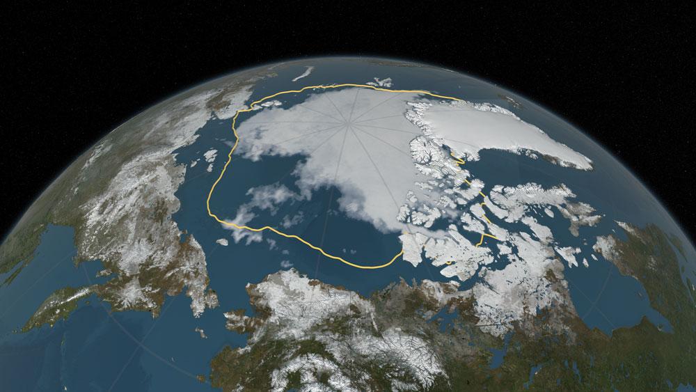 Arctic Ice Melt 2019