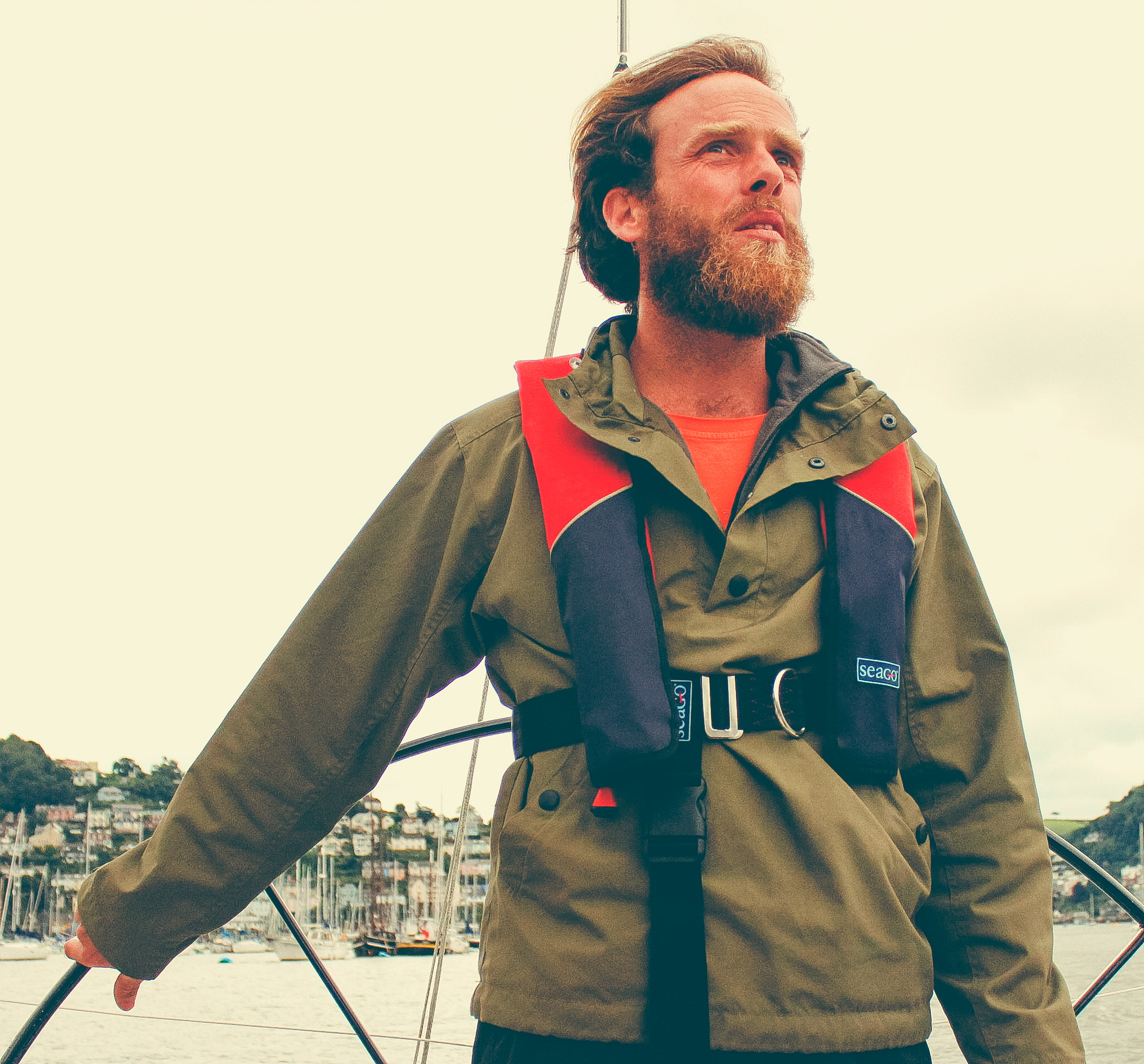 Ross Porter - Ross has worked as a captain, a marine and mechanical engineer, site manager for Buddhafield Festival and is now the director of VoyageVert - a project that is dedicated to providing sustainable travel.