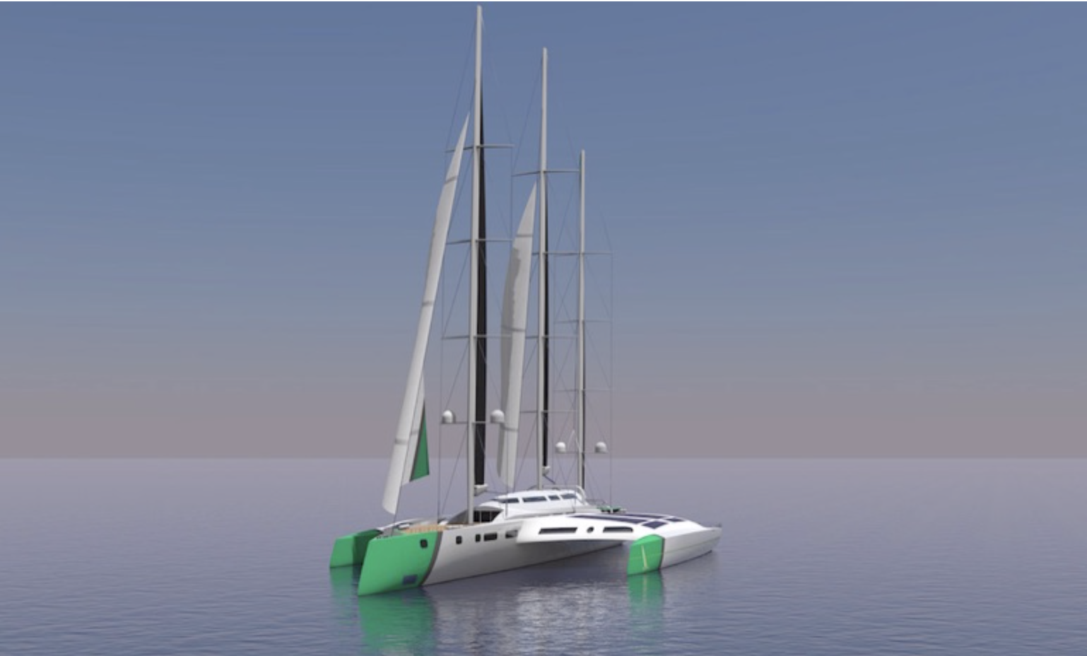 VoyageVert has a vision to build a transoceanic, sustainable passenger ferry powered entirely by wind