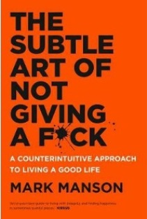 Deciding what to give a fuck about is the route to a better life. I pick this one up from time to time because it reminds me that shit happens, and helps me deal with it in the right way.