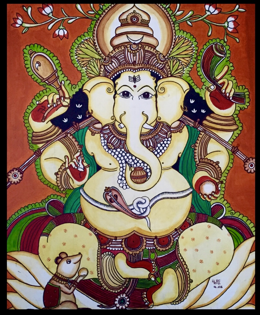 Gajananam - Kerala Mural