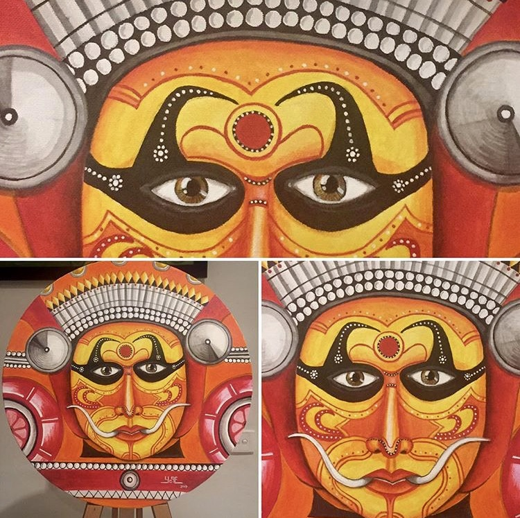 Theyyam - Fiery red Goddess Bhagavathi