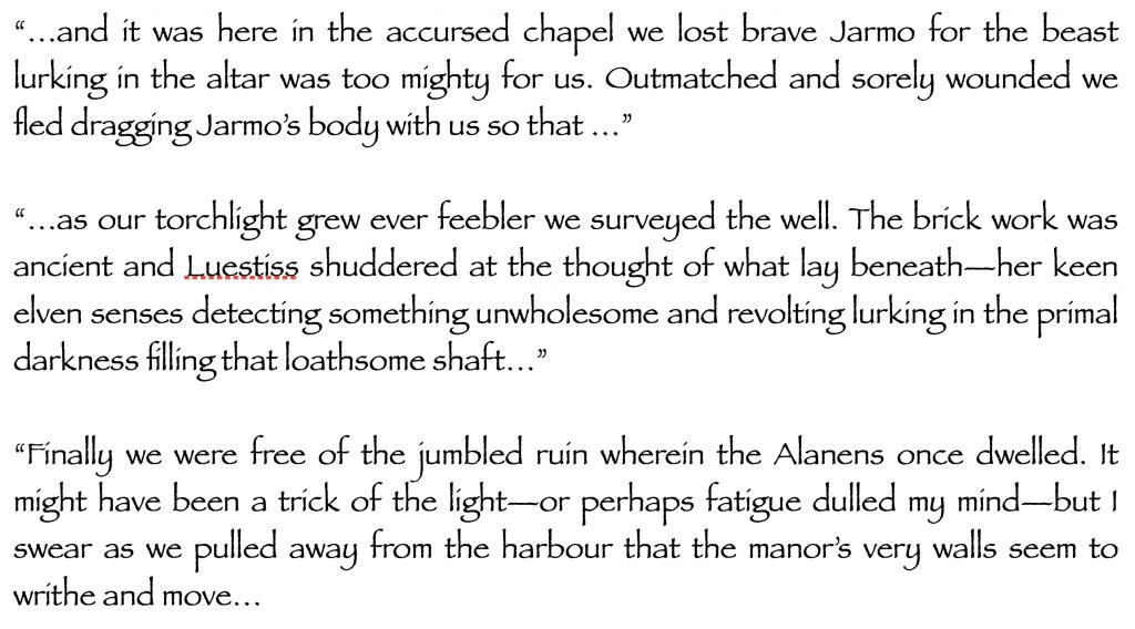The Faded Manuscript