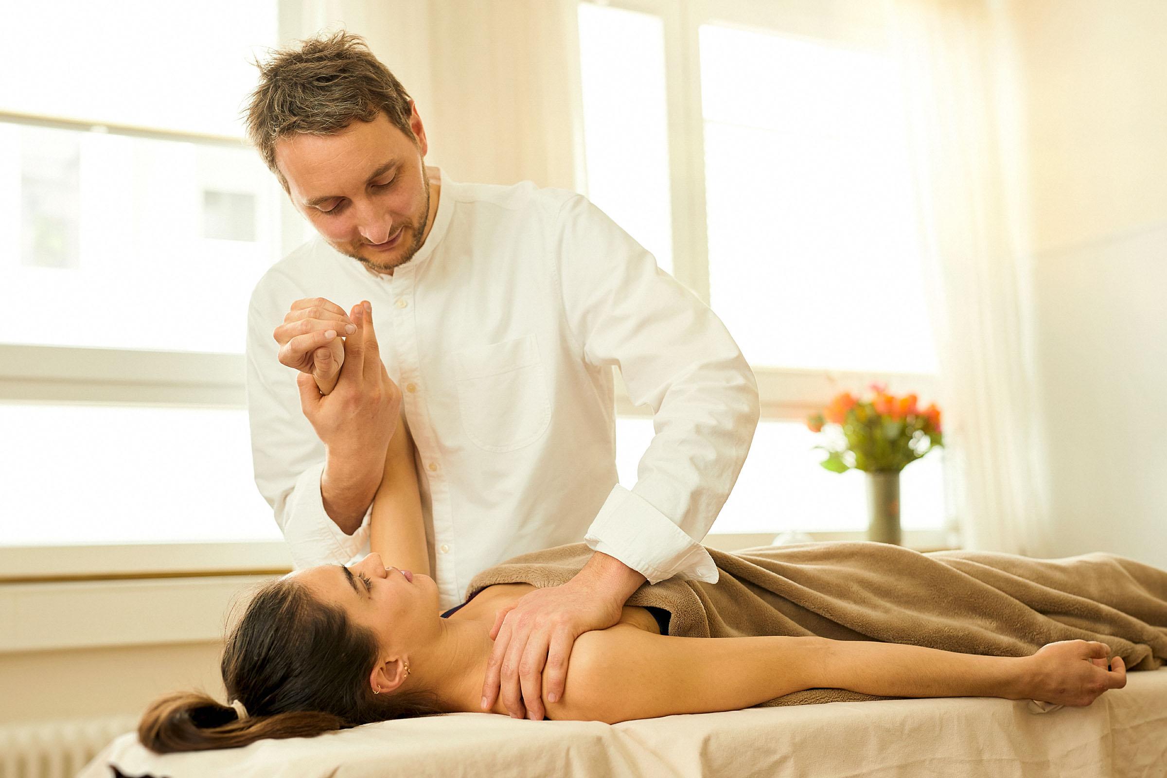 Über die Osteopathie -