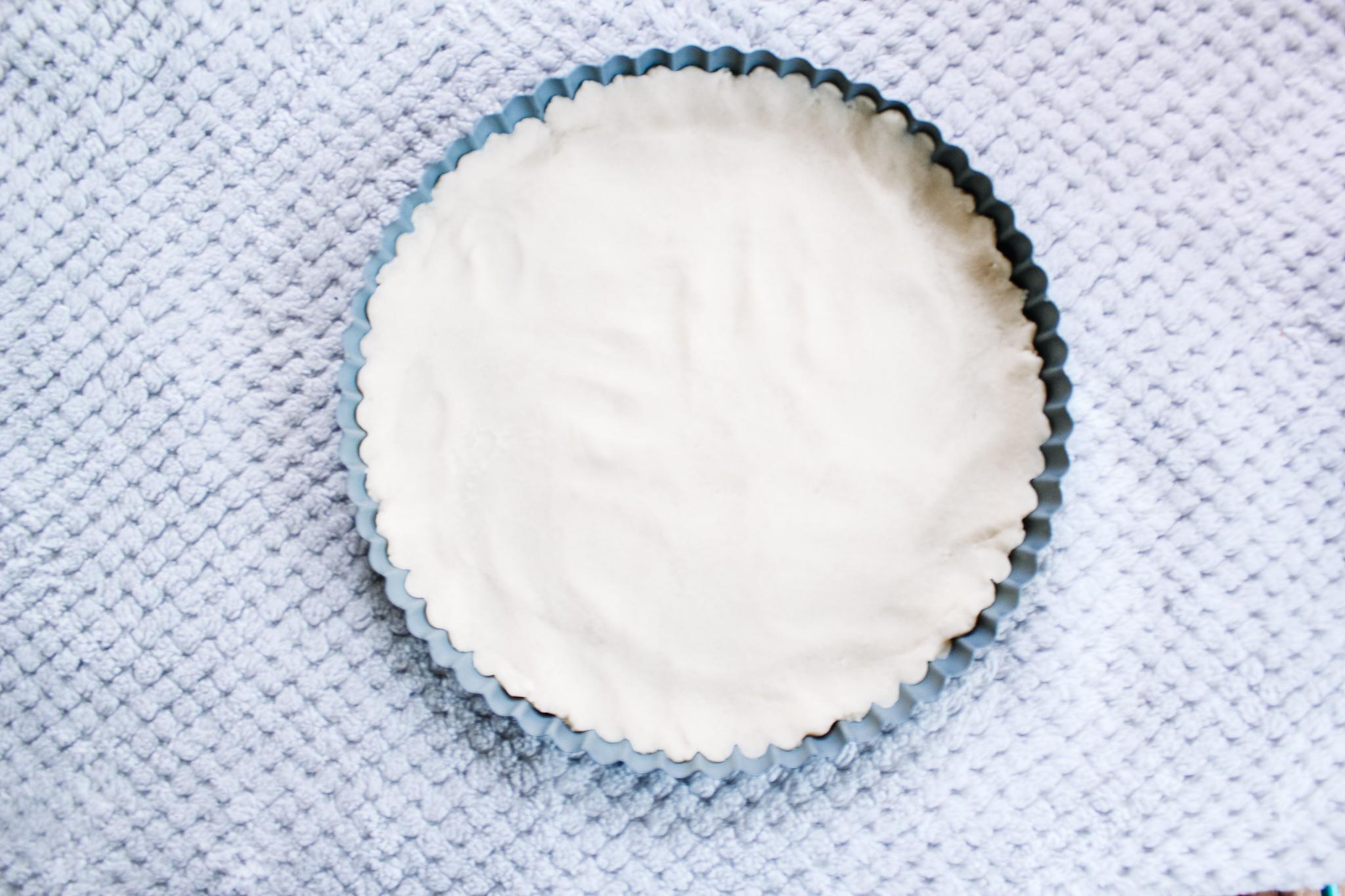 Flaky, handmade vanilla crust