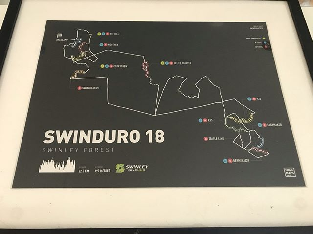 The awesome @trailmaps.co.uk team will be with us at Swinduro. Go check out the Swinley course map@in Basecamp and other glorious maps they produce - pure art 👌  #swinduro #swinleylife #swinleyforest #trailmaps #art