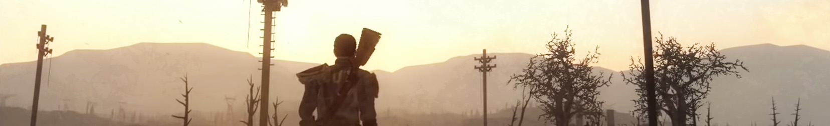 Cropped and edited screenshot from the  Fallout 3 trailer .