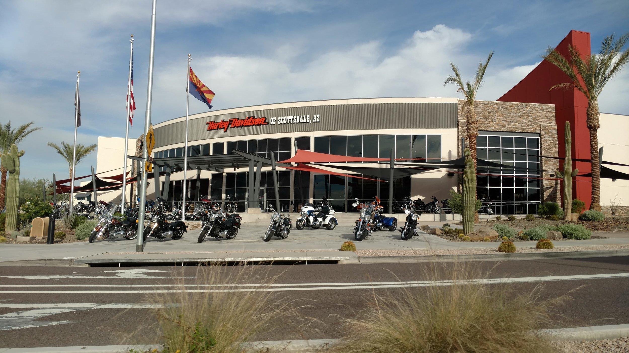 Harley Davidson, Scottsdale