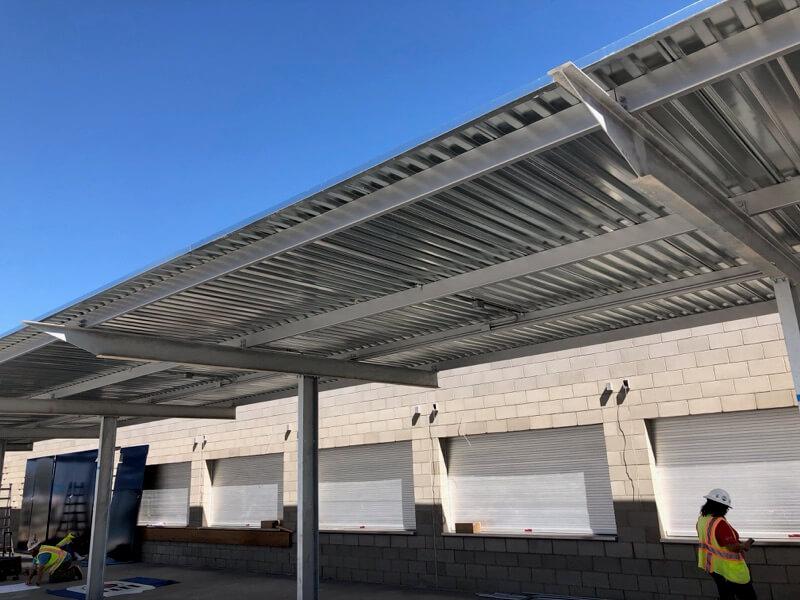 Steel Canopy 2