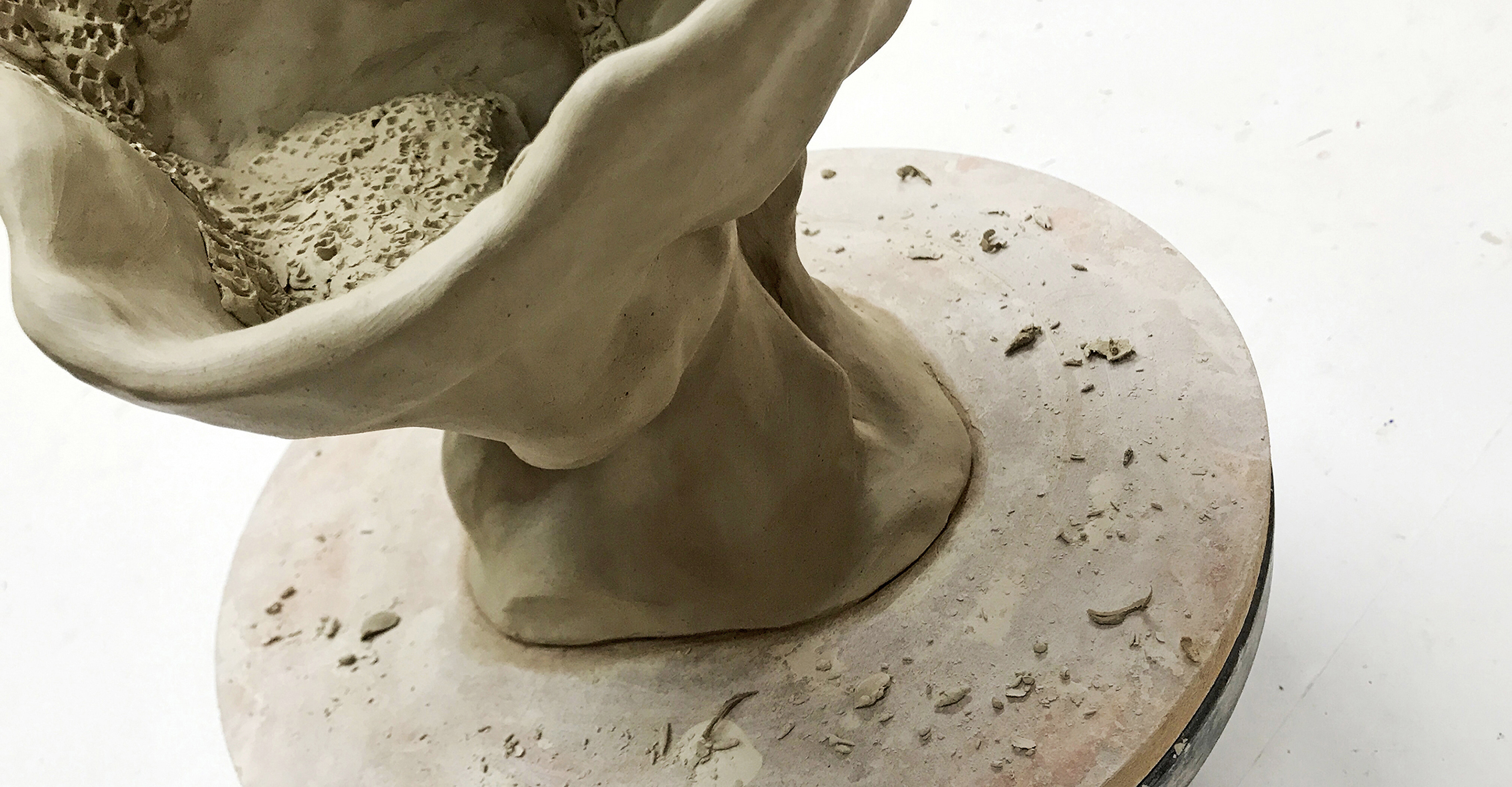 Untitled (2018): Clay