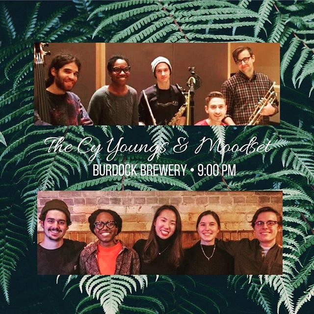 THIS Friday we're supporting our good buds @the.cy.youngs at @burdockbrewery!  New tunes and good vibes guaranteed. come thru! - it'll be a min till our next show 🤷🏾‍♀️ ✌🏼
