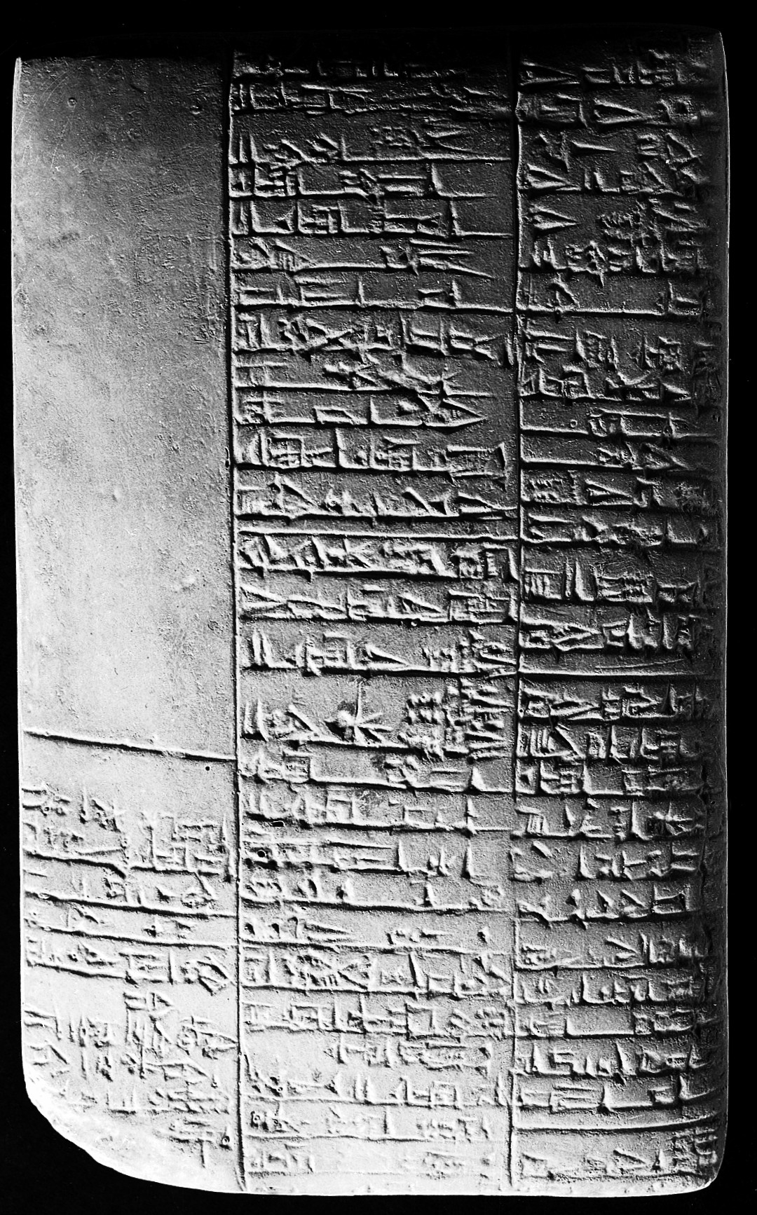 Sumerian cuneiform medical clay tablet