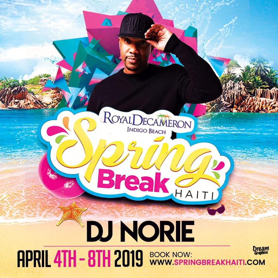 Spring Break Haiti 2019 - DJ Norie