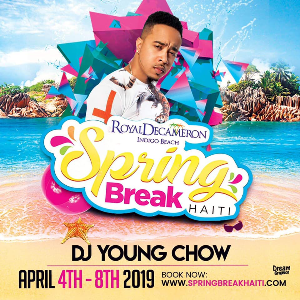 Spring Break Haiti 2019 - DJ Young Chow