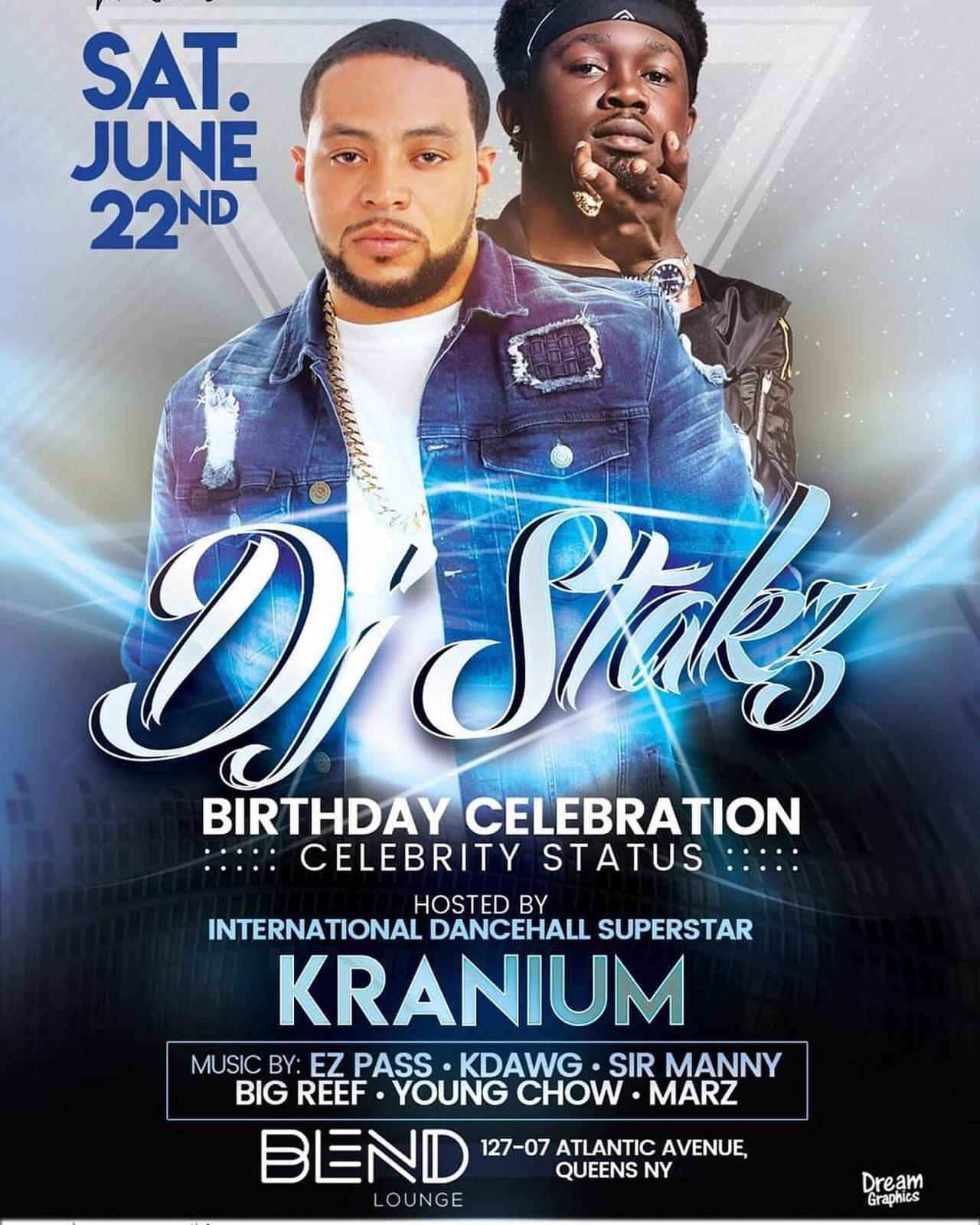 DJ Stakz Celebrity Status Birthday Weekend - Kranium - June 22.jpg