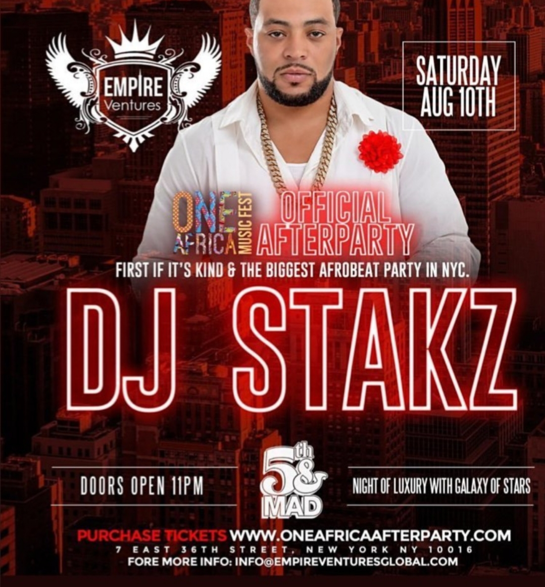 One Africa Music Fest 2019 - After Party - DJ Stakz - August 10.jpg