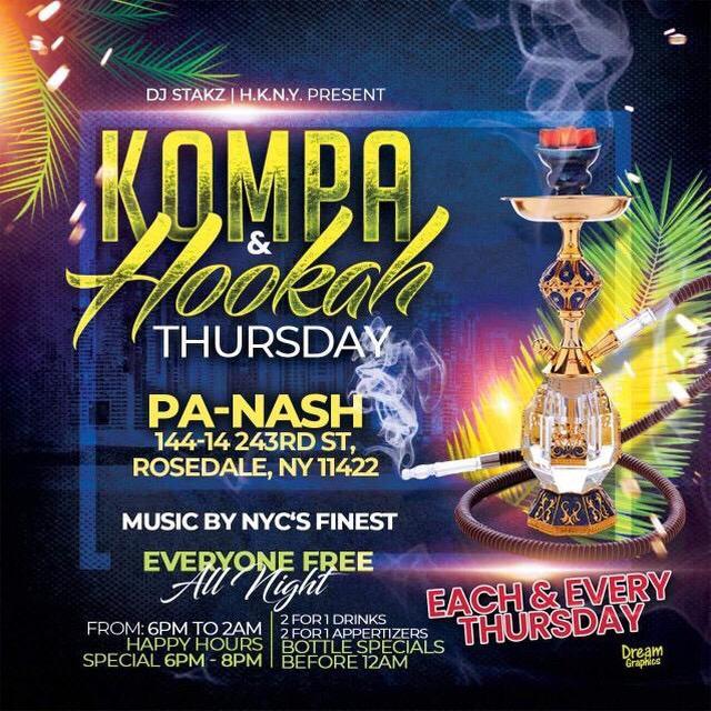 Kompa and Hookah Thursday - Each and Every Thursday.jpg