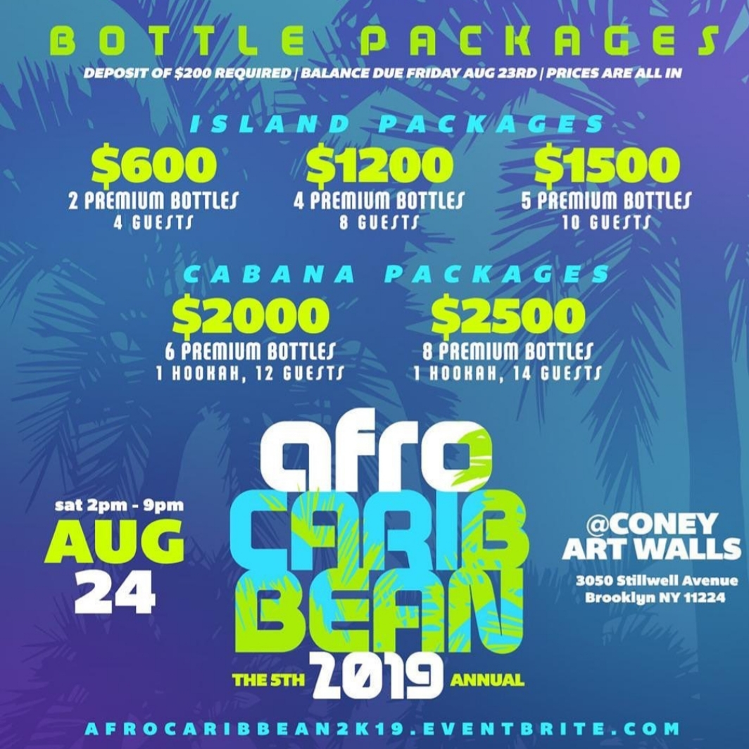 Afro Caribbean Fest - Bottle Package - August 24.jpg