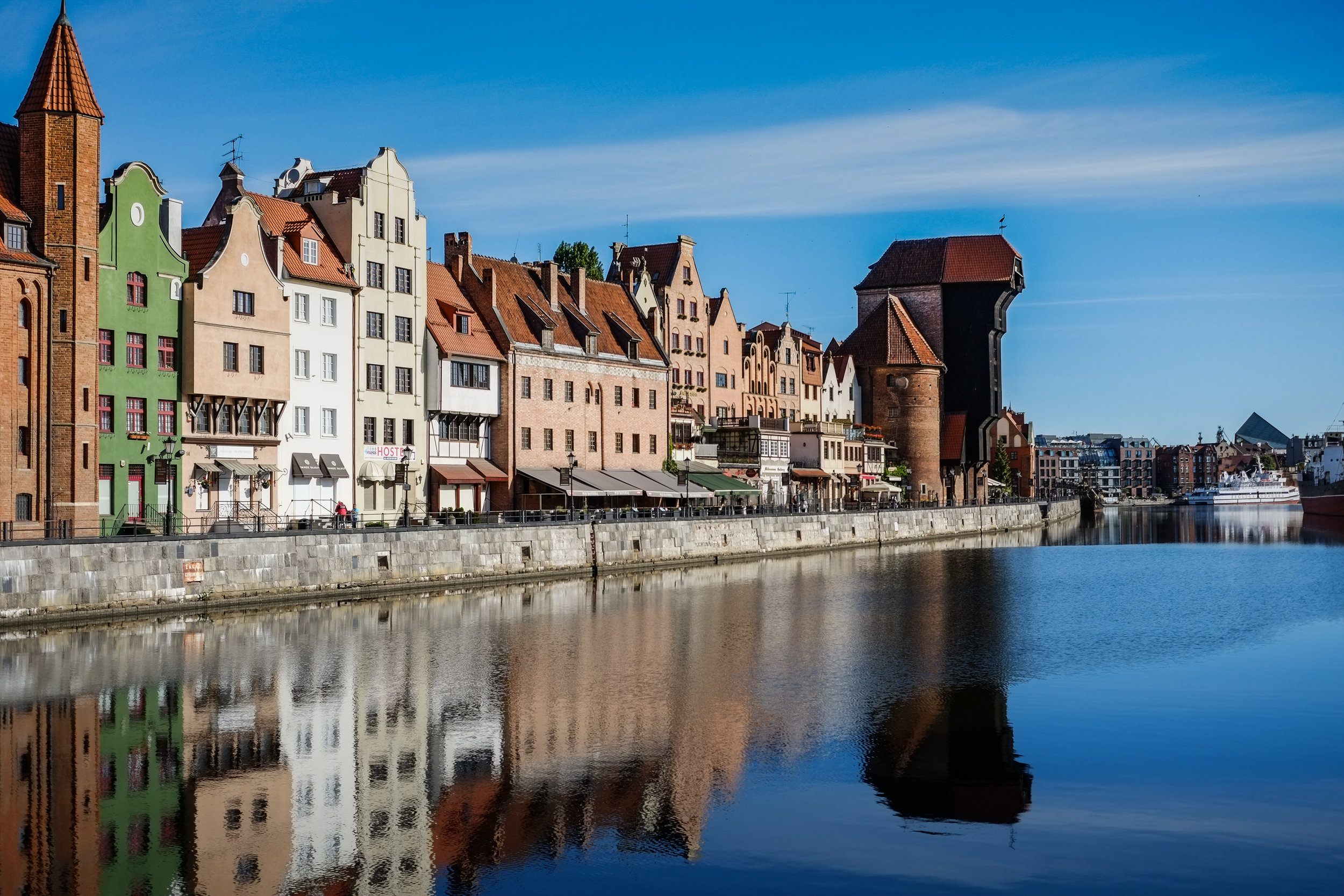 "The historic old town of Gdansk, the ""Amber City"""