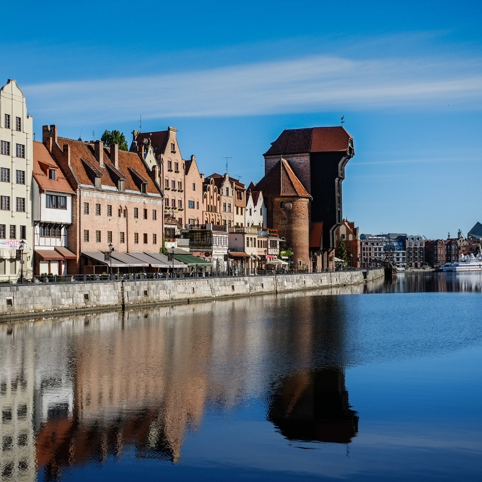 """The historic old town of Gdansk, the """"Amber City"""""""