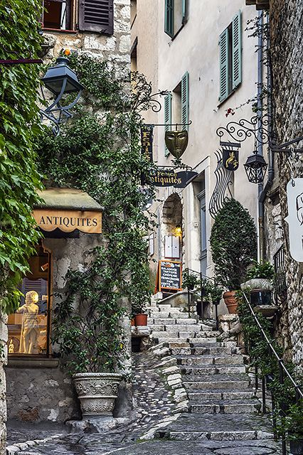 Saint Paul de Vence, France  Photo: John Greim/REX Shutterstock.