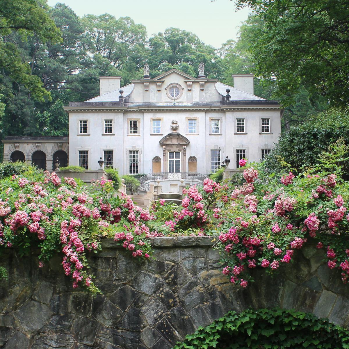 Swan House, Georgia via livesunique