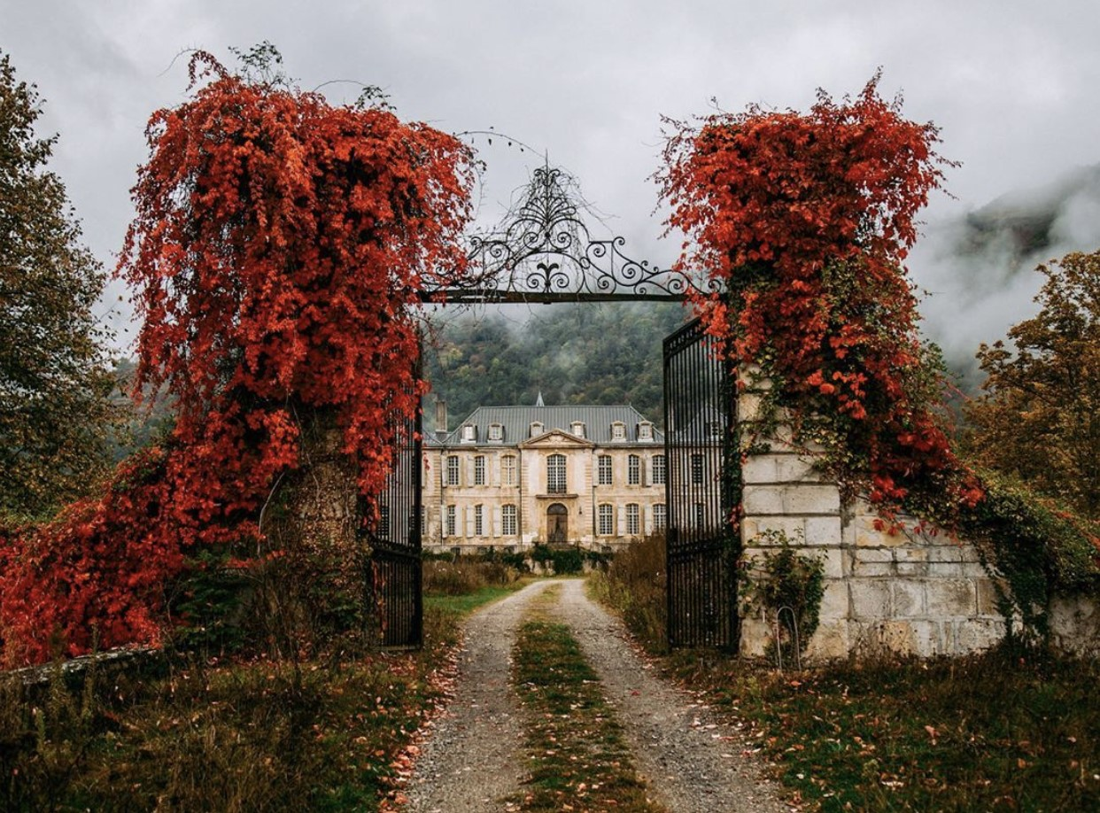 courtesy of The Chateau of Gudanes, France