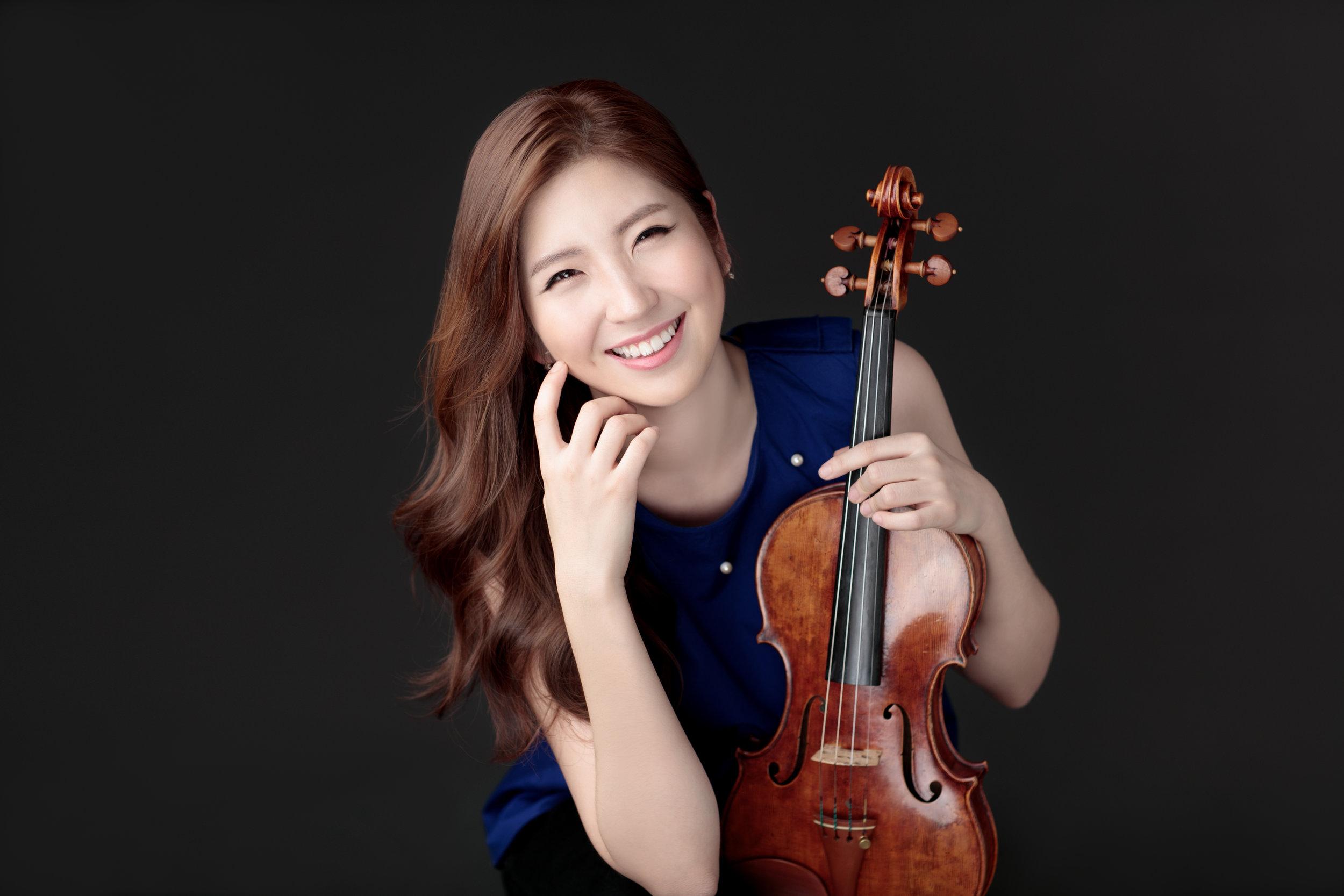 Suhyun Park  New York Philharmonic Violinist  纽约爱乐小提琴演奏家