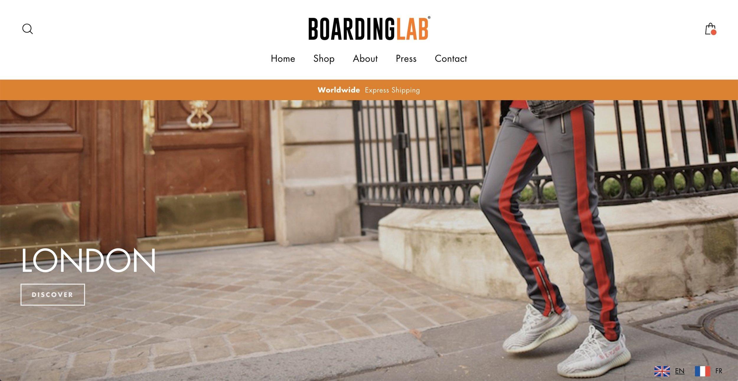 BOARDING LAB by agenceayoa