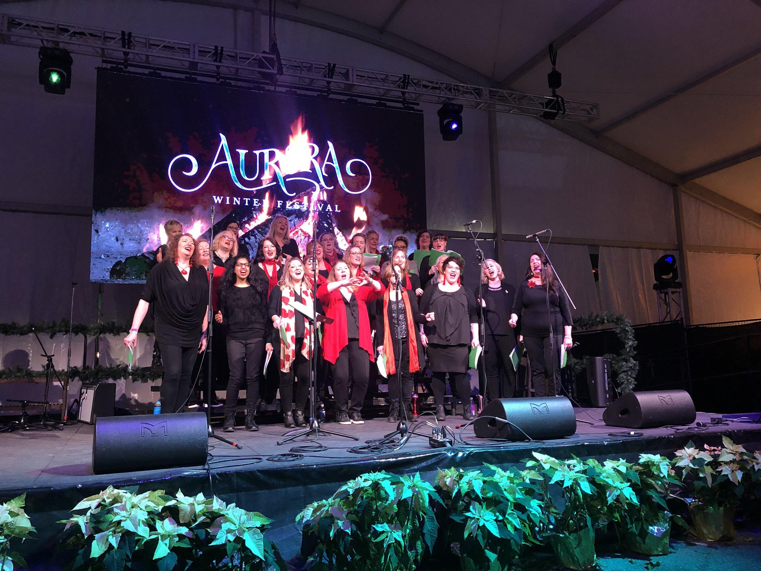 Lions Gate Lite - Aurora Winter Festival 2018