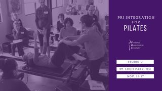 PRI / Pilates Training - November 16 &17